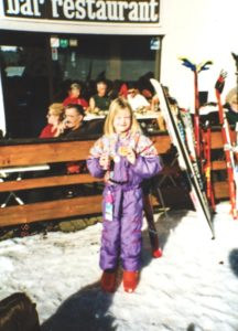 Skiing in the 90s, how times change!