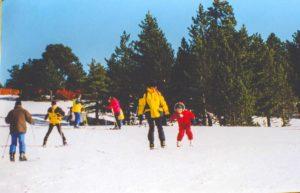 Happy memories of ski school in Les Gets